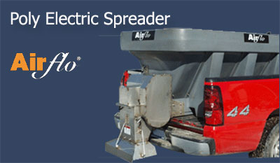 poly electric spreader AirFlo