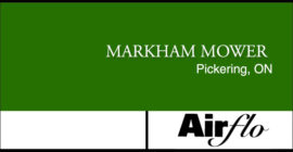 MARKHAM-MOWER-Pickering--airflo